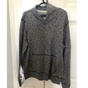 Blue & Gray GAP pull over hoodie!!